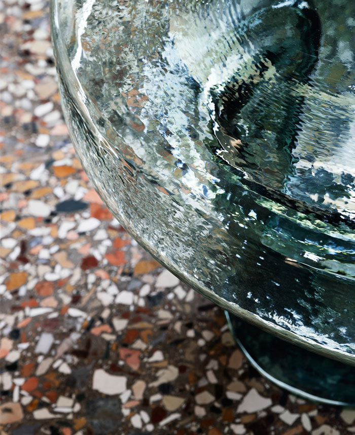 blown glass coffee tables soda collection 7