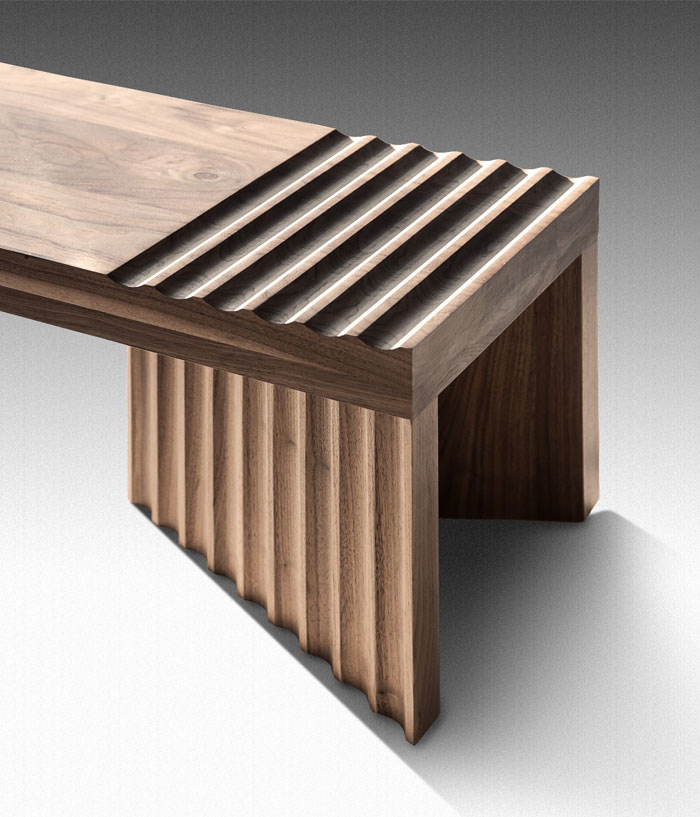 solid timber bench frequency 1