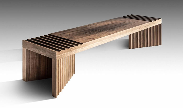 solid timber bench frequency 2
