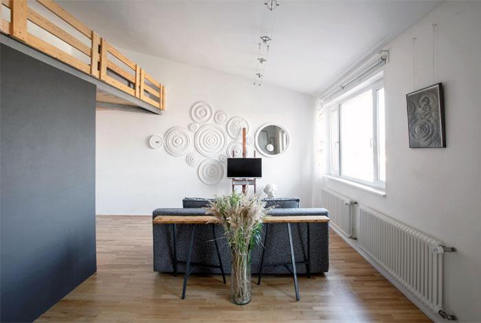 two level studio apartment 11