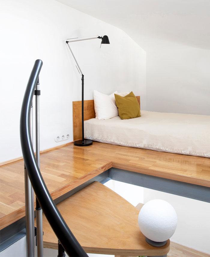 two level studio apartment 7