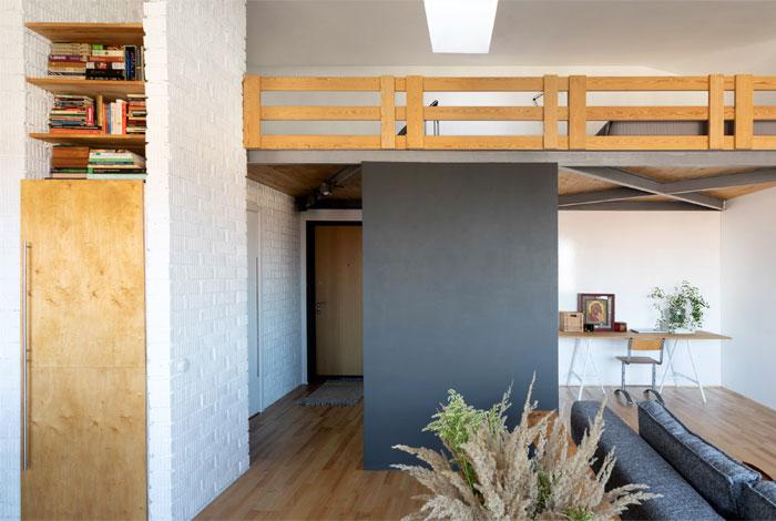 two level studio apartment 9