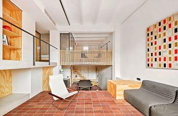 Renovation of an Multi-level Apartment in Barcelona by Mas-Aqui Studio