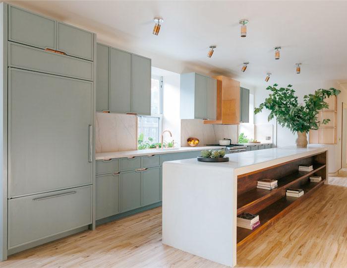 aI aqua kitchen cabinets