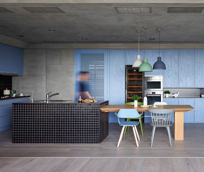 blue kitchen colour schemes 1 1