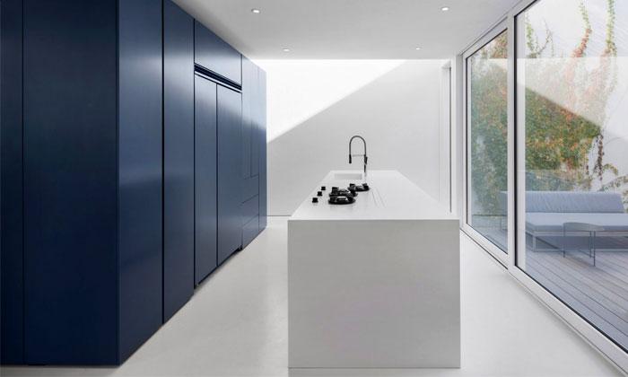 dark blue kitchen cabinets 2