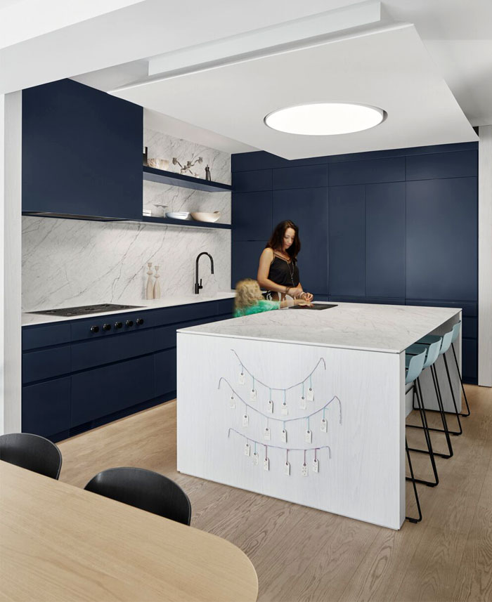 dark blue kitchen cabinets 7