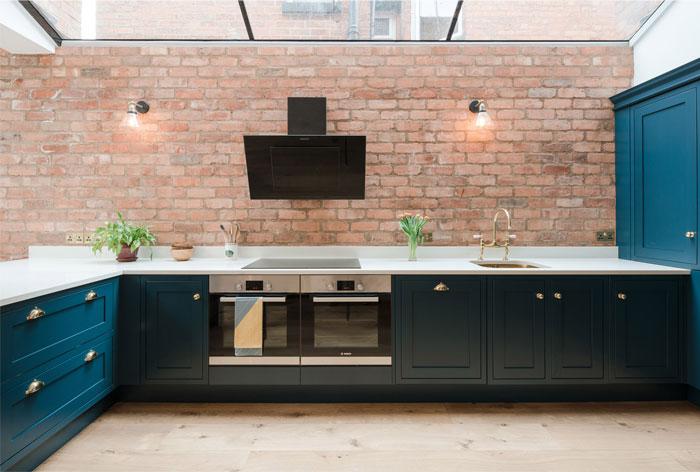 exposed brick kitchen 5