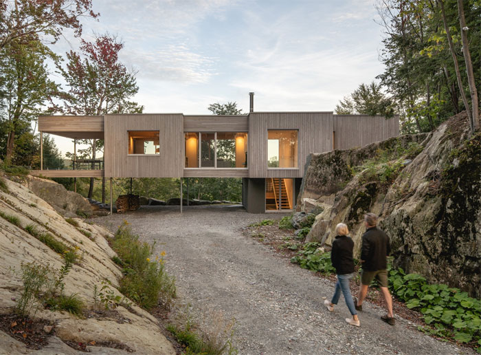 forest house natalie dionne architecture 1