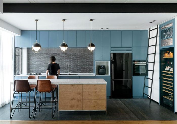 kitchen brick accent walls 1