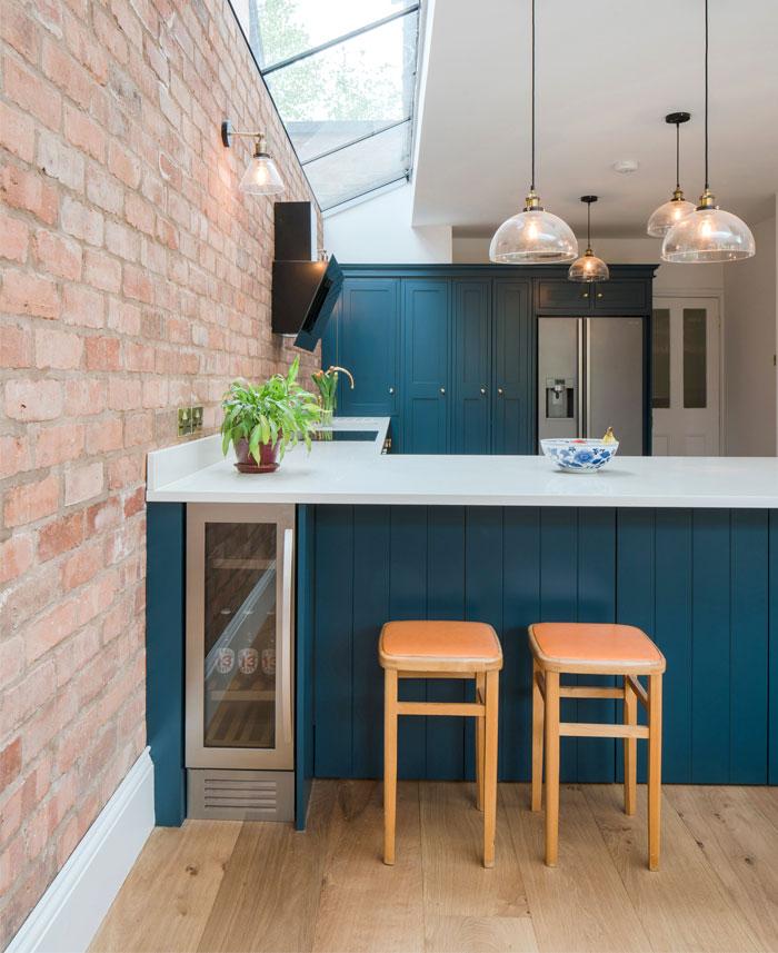 kitchen brick accent walls 2