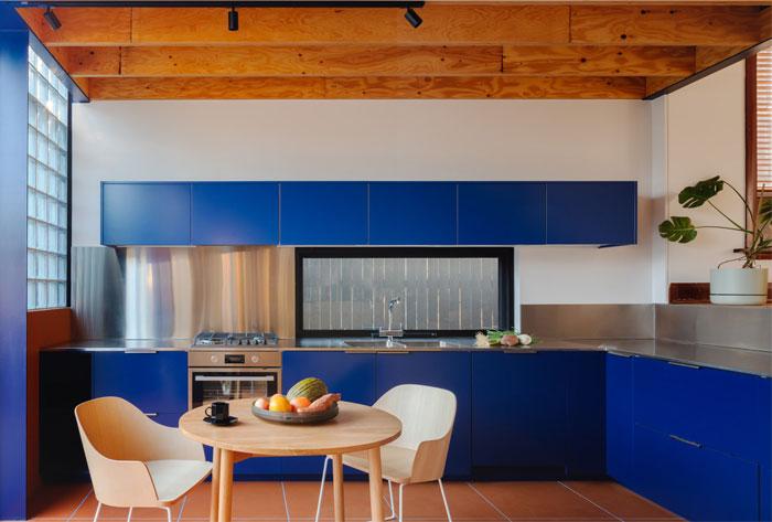 modern blue kitchen ideas 3
