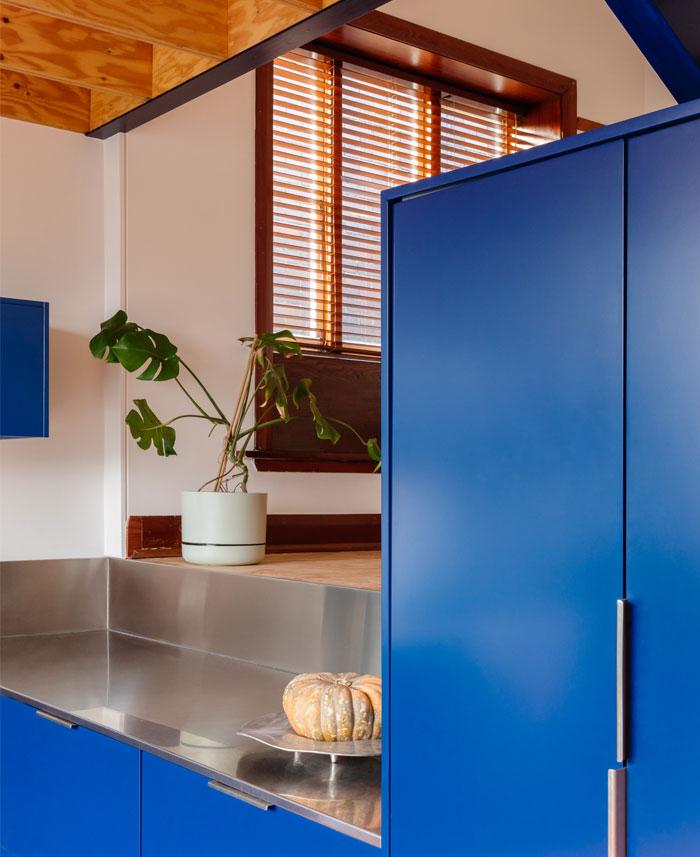 modern blue kitchen ideas 8