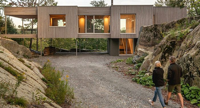 Forest House by Natalie Dionne Architecture