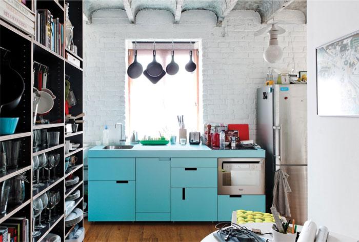 small kitchen zone