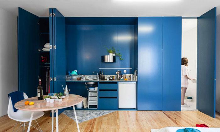 small kitchen zone fala atelier