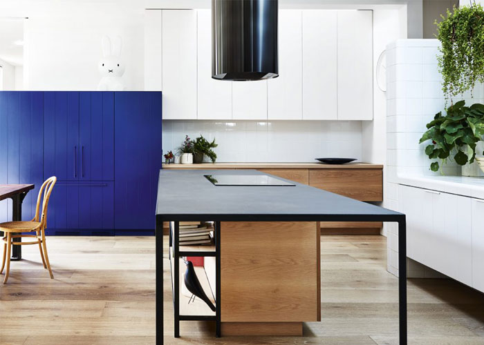 two tone kitchen cabinets island 5