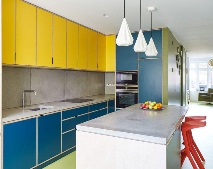 two tone kitchen cabinets island 7