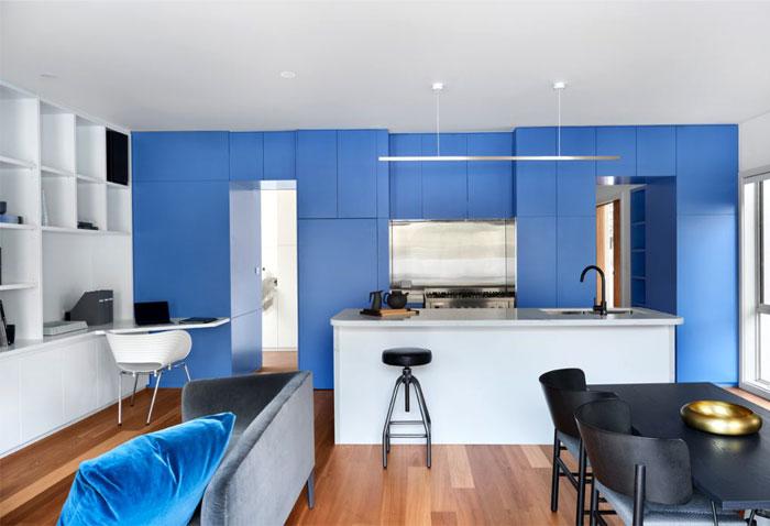 white blue kitchen cabinets 2