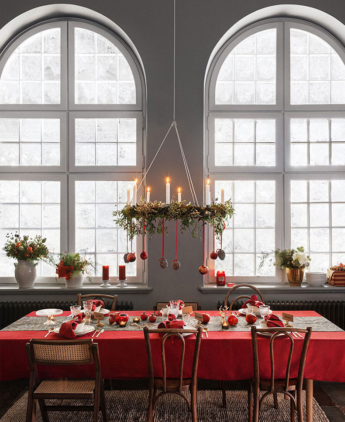 HM home christmas beautiful modern rustic decorations 1