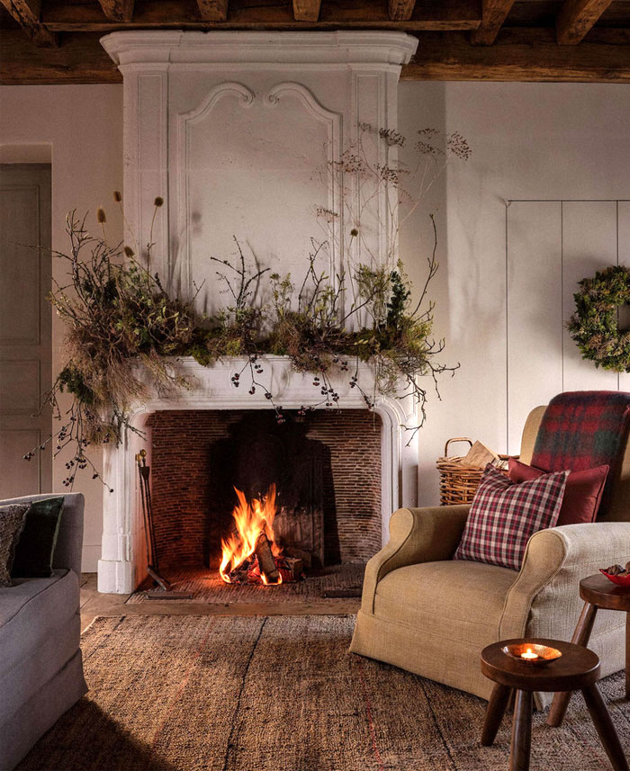 HM home christmas beautiful modern rustic decorations 2