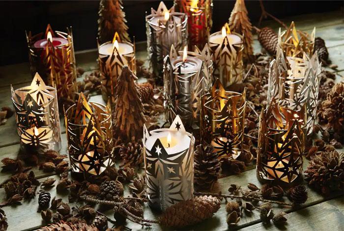 christmas modern rustic decorations 3