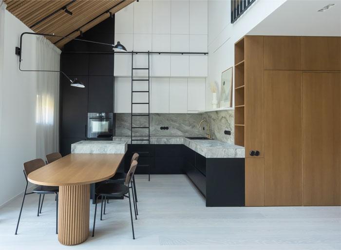 two level apartment vilnius 1