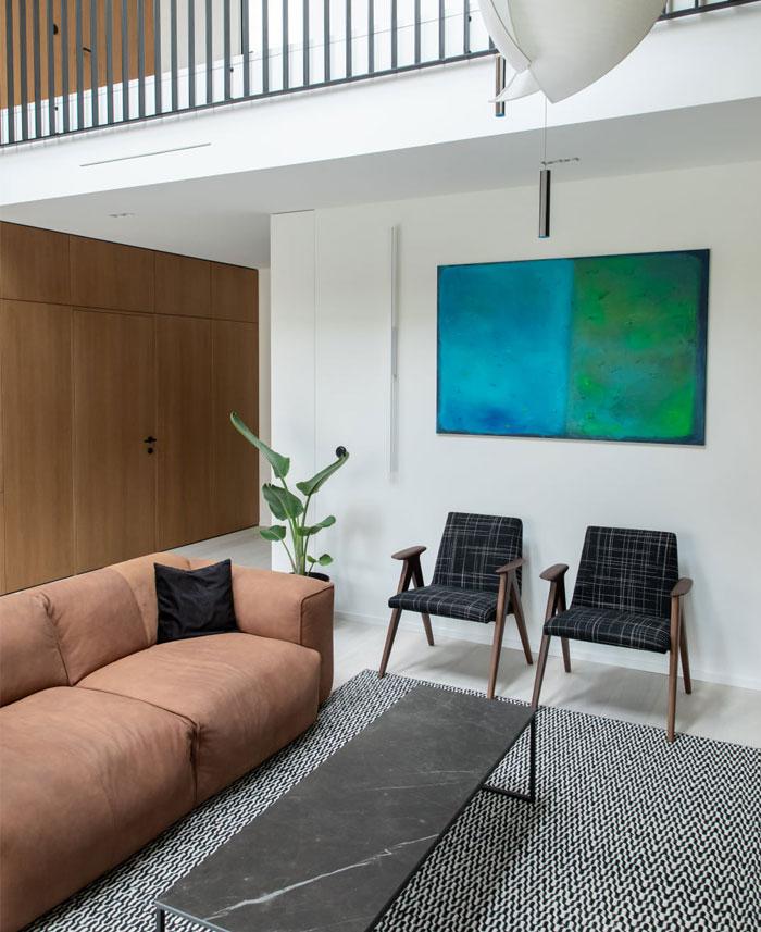 two level apartment vilnius 5