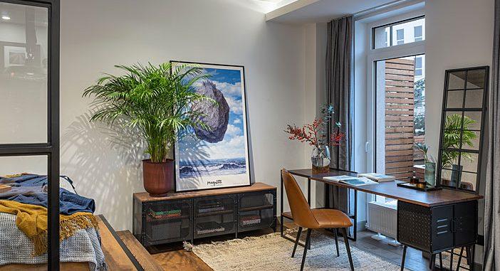 40 Square Meter Studio Apartment by Donata Granata