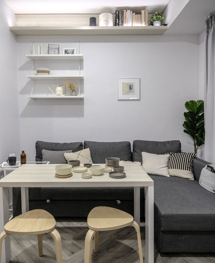 compact living apartment jakarta 2