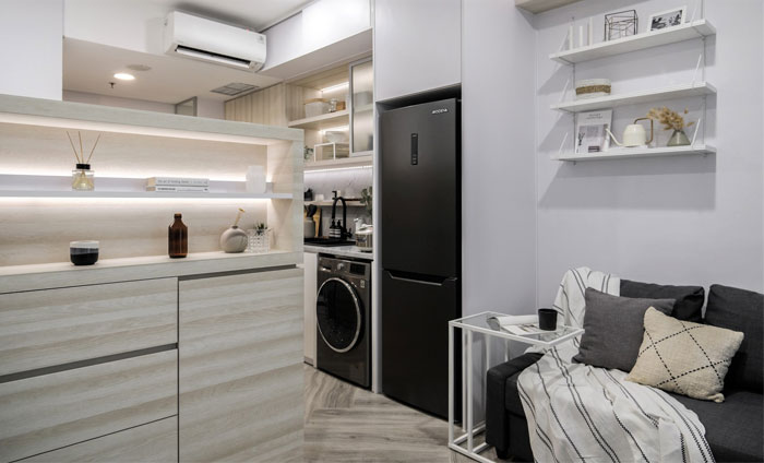 compact living apartment jakarta 4