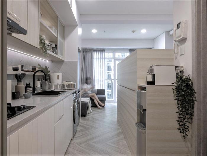 compact living apartment jakarta 6