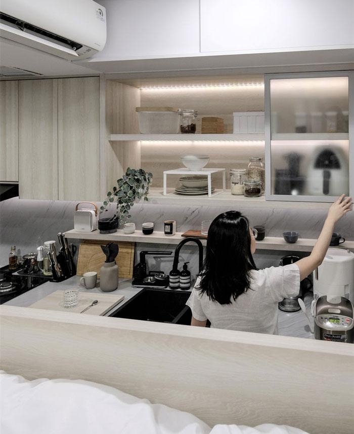 compact living apartment jakarta 9