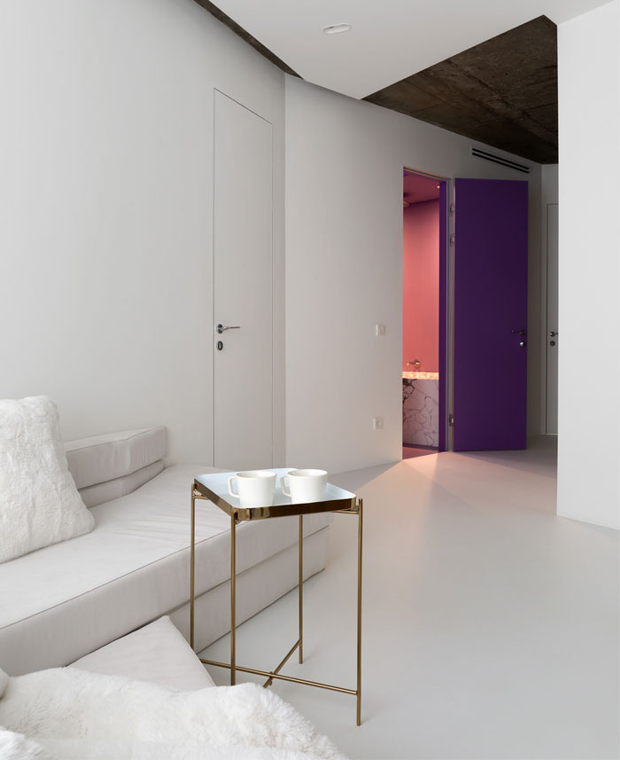 kashin architects all white interior space moscow 13