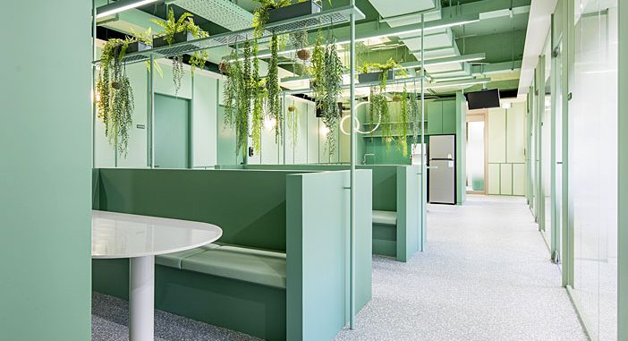 Greengrass Office by Plainoddity
