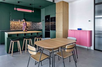 Colorful Yerevan Apartment by snkh studio