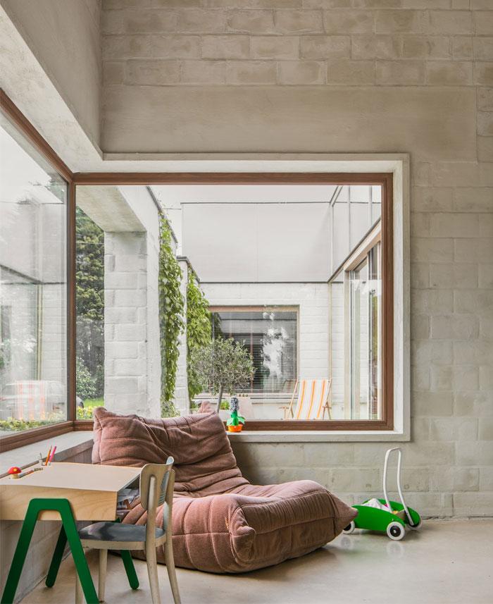 house c vl graux and baeyens architecten 5