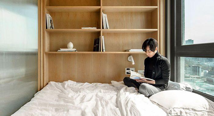 LIFE Micro-Apartments in South Korea