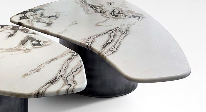 Unique Hand-Crafted Coffee Table by OKHA