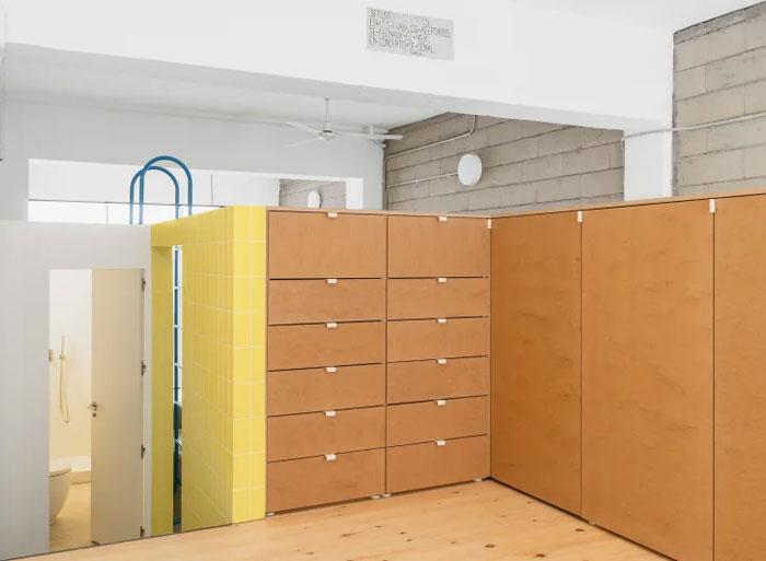 burr warehouse turned apartment 7