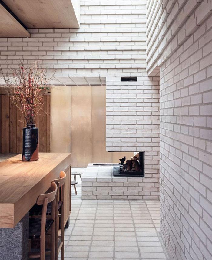 sustainable design trends brick interior