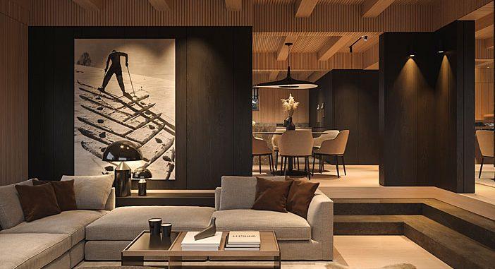 Chalet Chamonix by Bezmirno Architecture