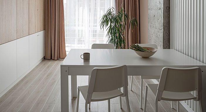 Minimalist Apartment Decor by Koot bureau